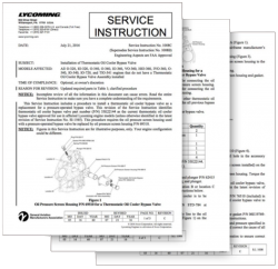 Lycoming Service Instruction Letter